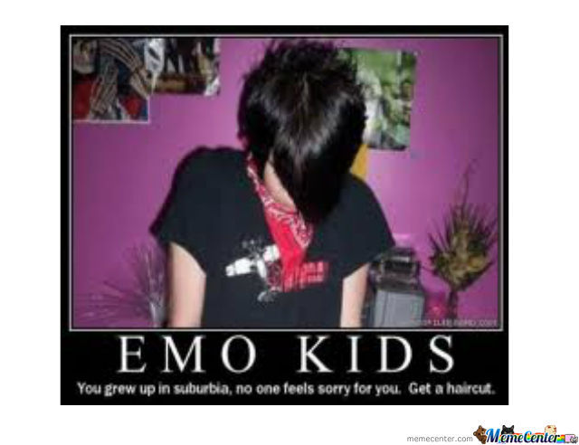 Emo Kids, Please Have A Haircut