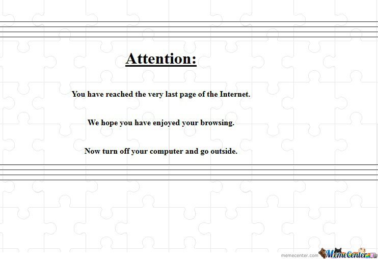 End Of The Internet