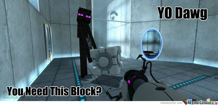 Enderman In The Other Dimension