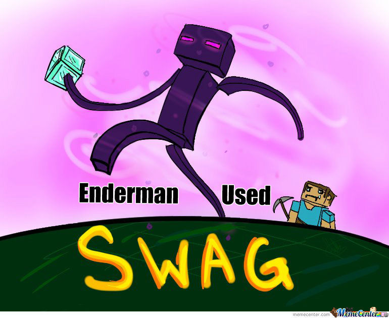 Enderman Used Swag