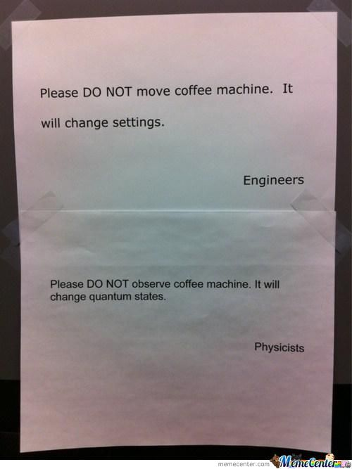 Engineer Vs Physicists