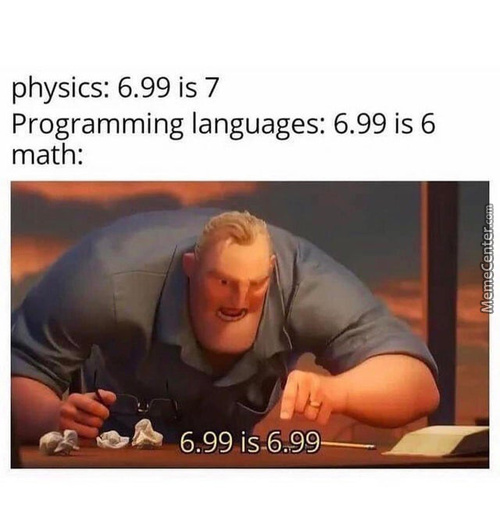 Engineering Students 6.99 = 10 Approx