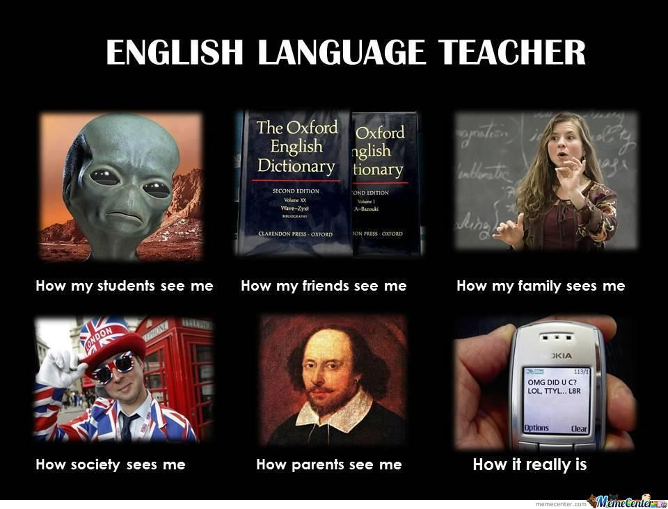 English Language Teachers -_-