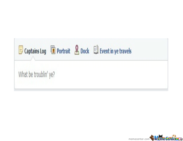 English (Pirate) On Facebook (Awesome!)
