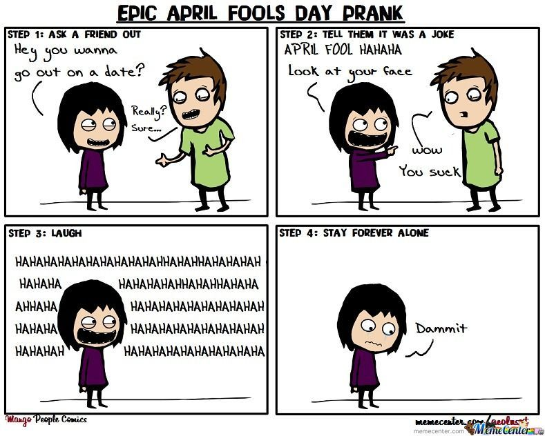 Epic April Fools Day Prank