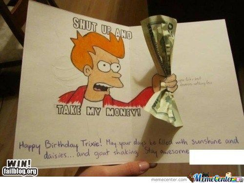 Epic Birthday Card Is Epic