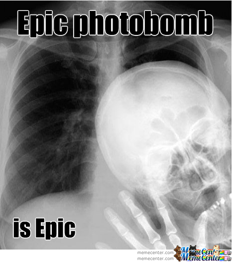 Epic Photobomb