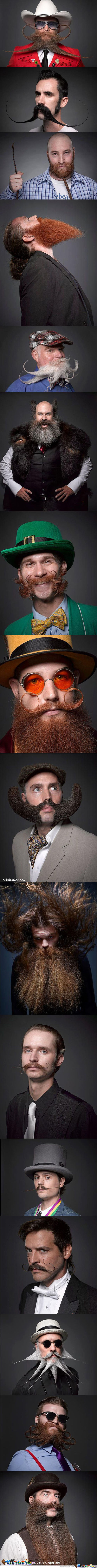 Epic Portraits From The National Beard And Mustache Championships