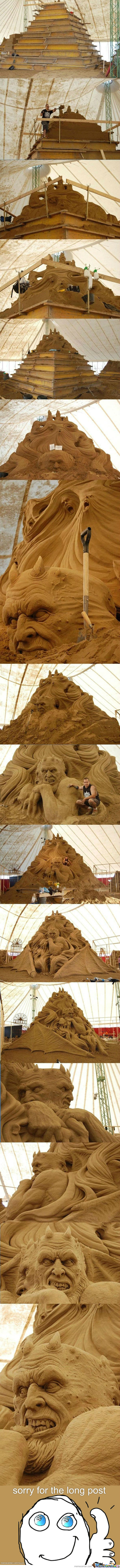 Epic Sand Sculpture