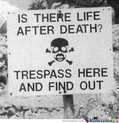 Epic Trespassing Signboard Is Epic