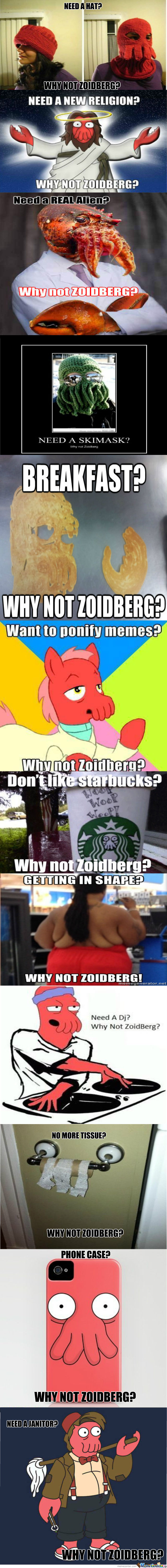 Epic Why Not Zoidberg Compilation