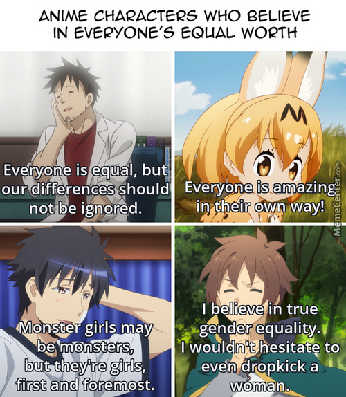 Equality In Anime