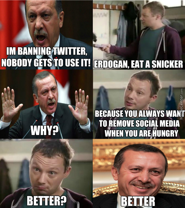 Erdogan, Eat A Snicker