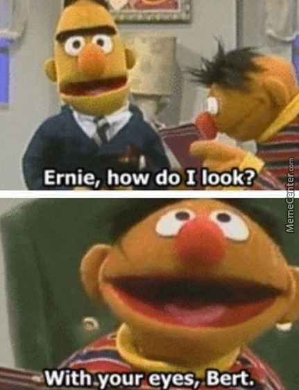 Ernie, How Do I Title?