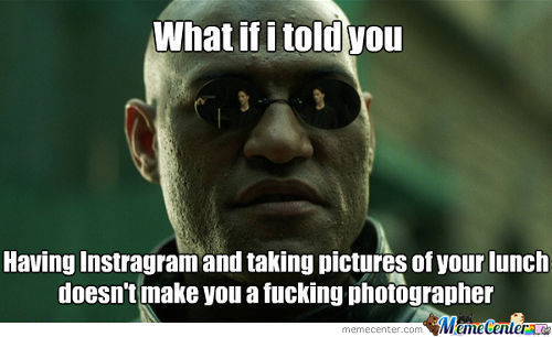 What if i told you having instagram