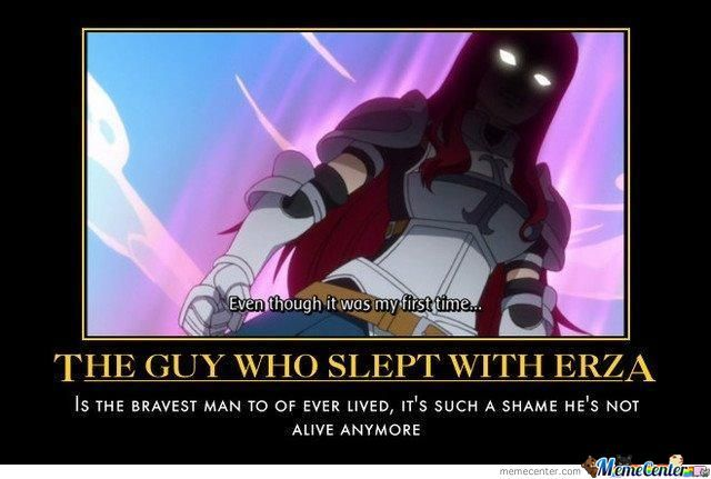 Erza Lost Her Virginity By Phang01 - Meme Center-4004
