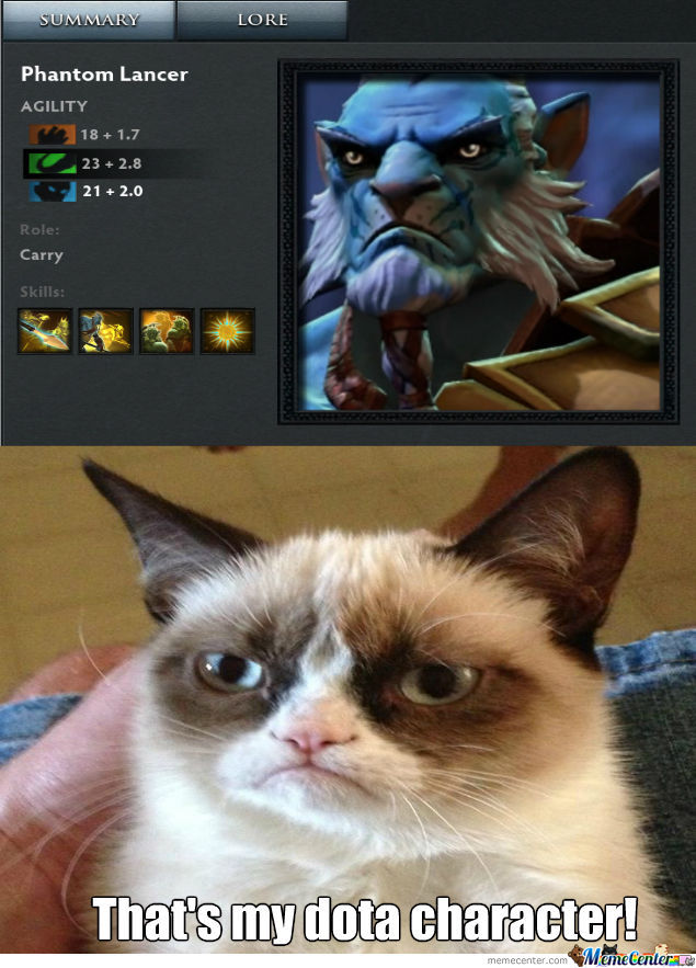 Even Cats Play Dota >: