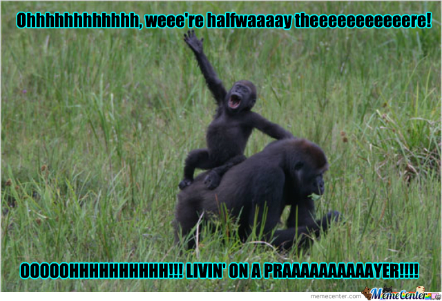 Even Chimps Like 80S Music.