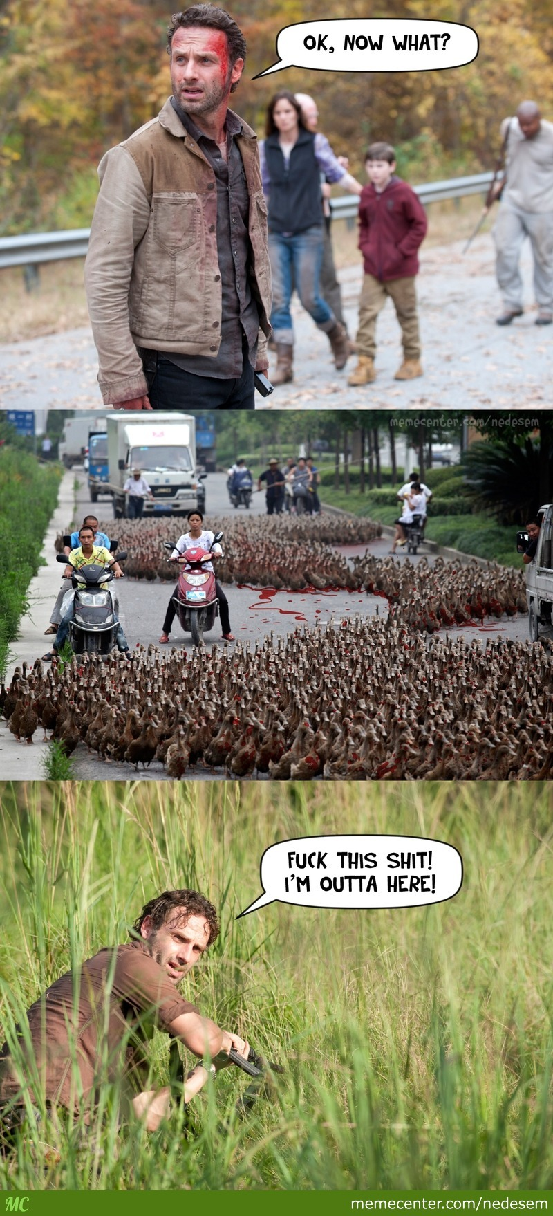 Even Daryl Can't Handle This