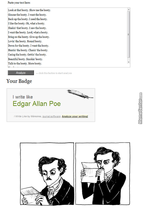 Even Edgar Allan Poe Is Confused By This Crap