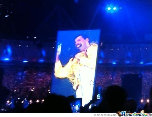 Even Freddie Mercury Was At The Olympics Closing Ceremony!