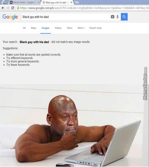 Even Google Can't Find His Dad