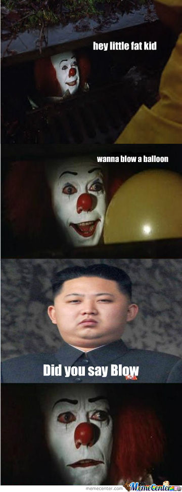 even pennywise_o_1280921 even pennywise by thepuppetsaw meme center