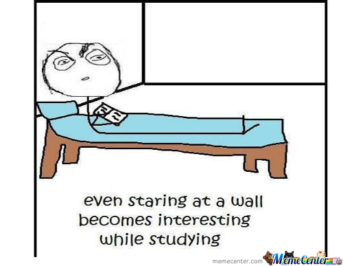 Even Staring At A Wall