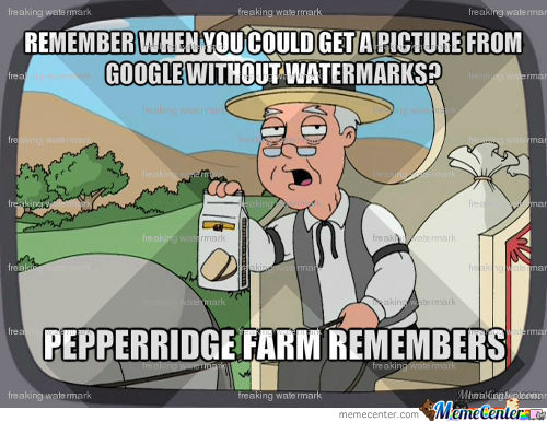Even The Images I Used For Watermarks Had Watermarks