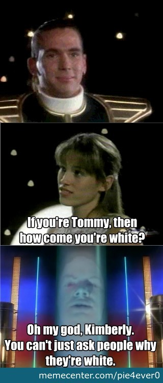 Even Zordon Knows That Much.