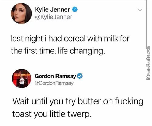 Ever Been So Rich You've Never Had Cereal With Milk?