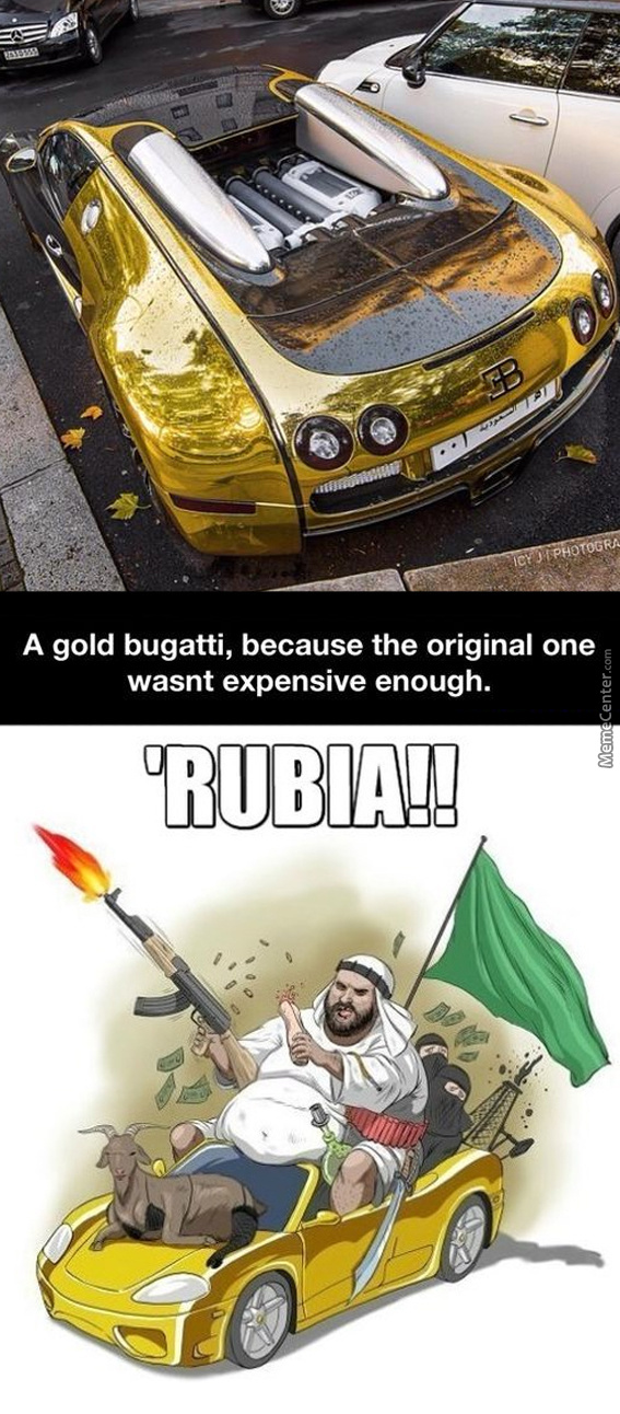 Ever Been So Rich You Just Made Gold Versions Of Stuff Just For The Fun Of It?
