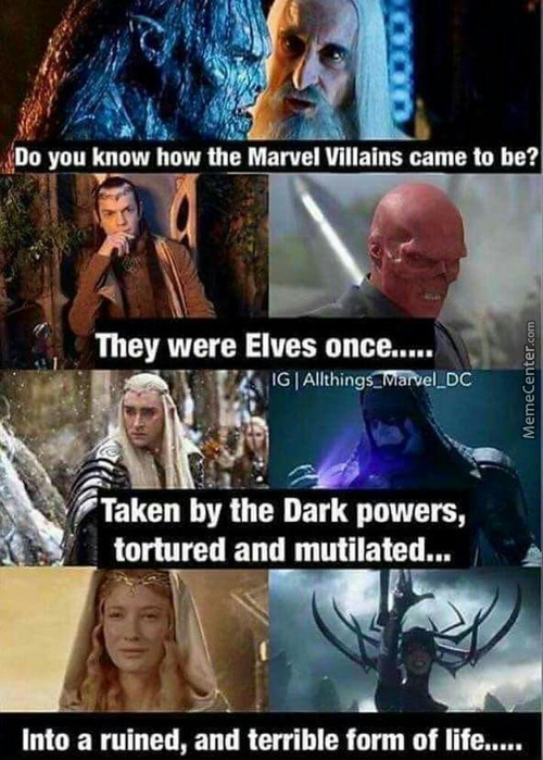 """Ever Think About The Villains Mothers? """"did You See That Kid Thanos? Why Can't You Be Like Him?"""