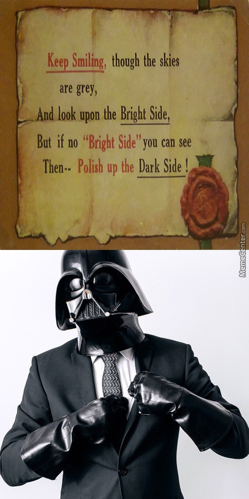 Ever Wonder If Darth Force Choked The Chicken?