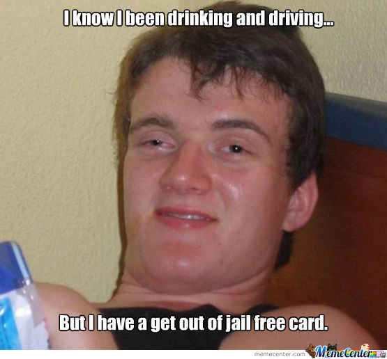 Every Drinker's Dream When Being Pulled Over