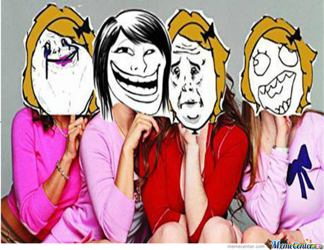 """Every Group Have One Forever Alone One Troll One Who Always Say """"okay"""" And One Who's Always Happy"""
