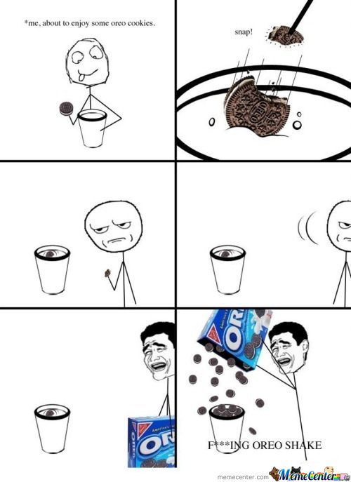 Every Time When I Eat Oreo