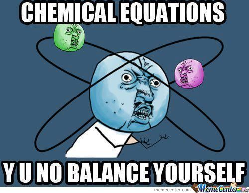 Everyday In Chemistry Class...