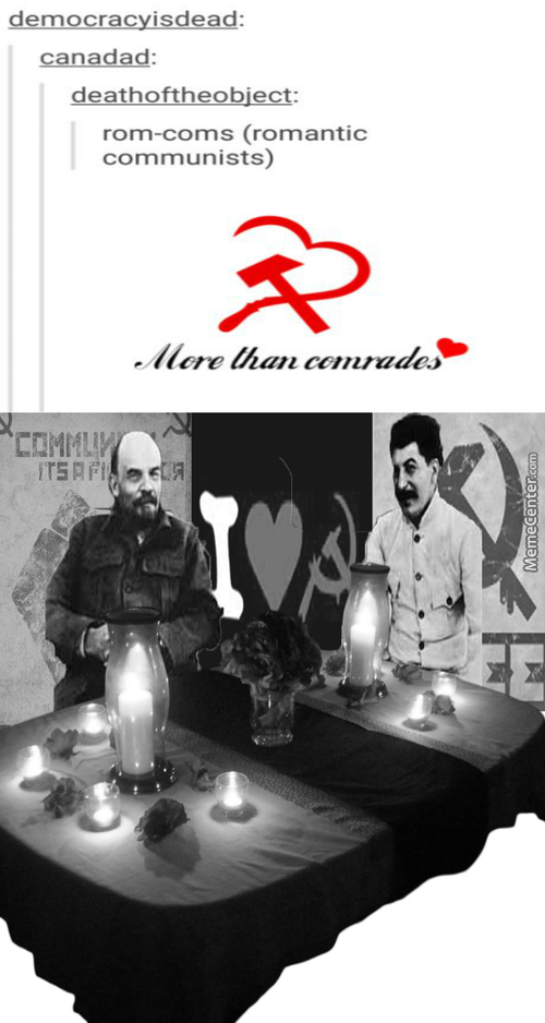 Everyone's Equal In Communist Romance (In Theory). So Quite Stalin