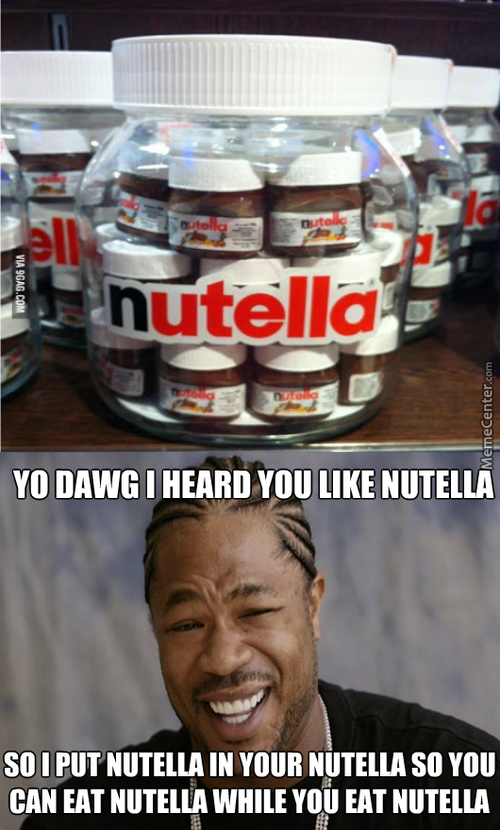 Everyone Likes Nutella... I Know Your Dirty Little Secret