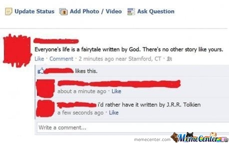 Everyone's Life Is A Fairytale Written By God