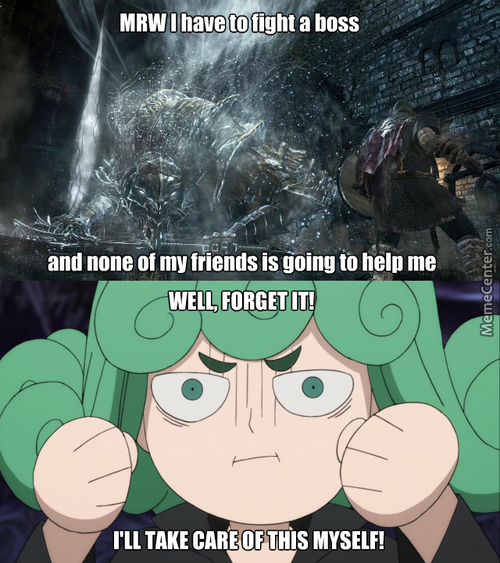 Everyt-Wait...i Don't Have Friends (Anime: One Punch Man)