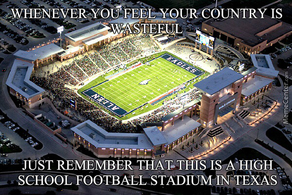 Image result for texas high school football memes