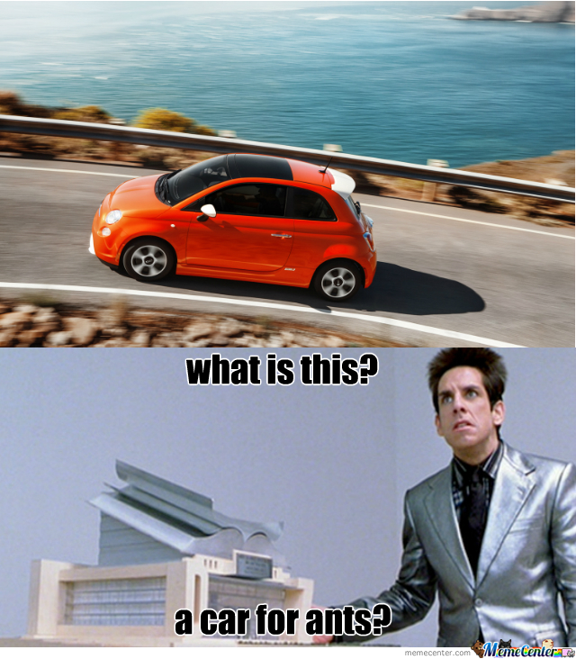 Everytime I See A Fiat I Think Of This