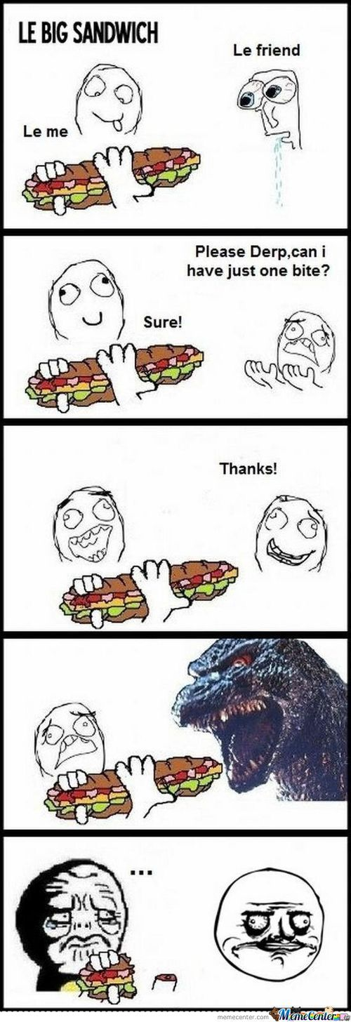 Everytime My Friends Have Something Awesome To Eat.... X3