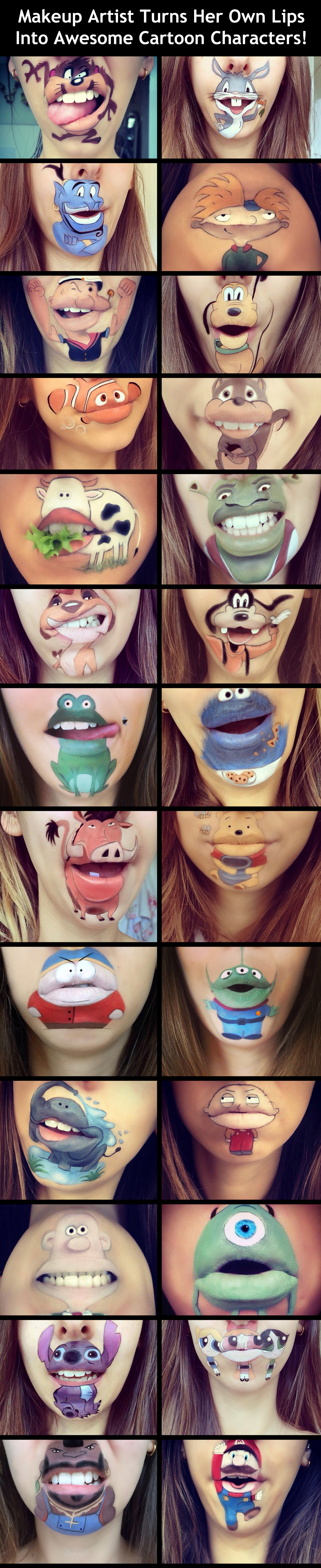 Excellent Use Of Lips If You Know What I Mean