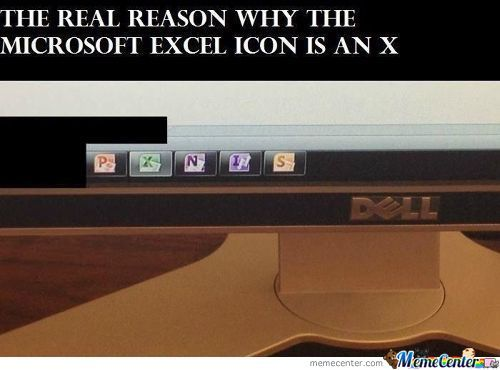 Excel's Icon Saved The World