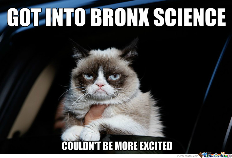 excited about getting into bronx science_o_2378143 excited about getting into bronx science by wumc meme center