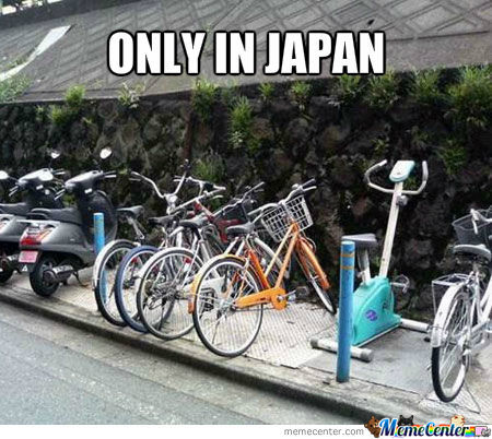 Exercise Bike Parking