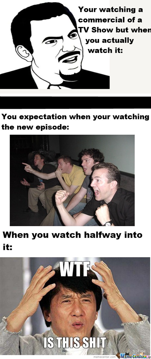 Expectations Of Tv Shows